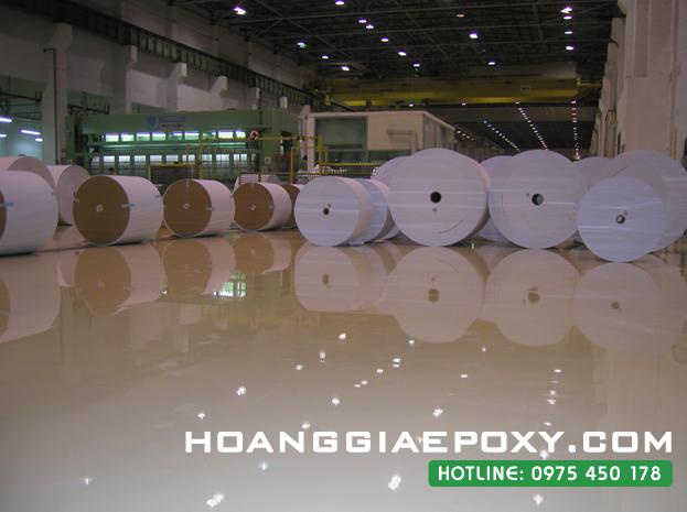 Thi công sơn epoxy nền sàn nhà xưởng tại Hưng Yên